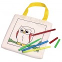 Petit sac en coton PAINT YOUR POCKET pour enfant