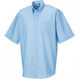 CHEMISE OXFORD HOMME MANCHES COURTES