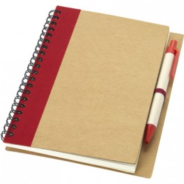 Carnet de notes avec un stylo Priestly