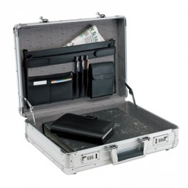 Attaché Case AGENT en aluminium