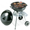 Barbecue MASTER rond sur roulettes