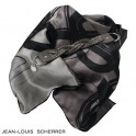 Set Foulard soie Reflection Grey + Bracelet Reflection Grey